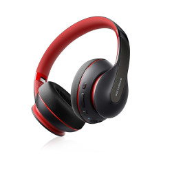 Soundcore Life Q10 Bluetooth Headphone With Hands Free Mic - Red