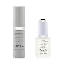 Global Eye Contour Cream 15 Ml +  Ultimate Serum - N 8 - 30 Ml