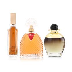 Black  Jean Louis Scherrer And Diva Fragrance Gift Set