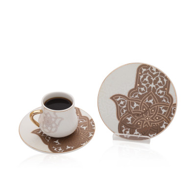 Coffee Cup And Saucer Spirit Of Ancient - Gy1031