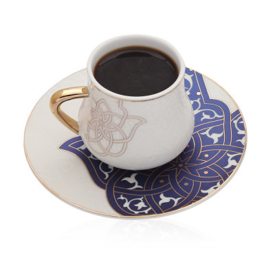 Coffee Cup And Saucer Spirit Of Ancient - Gy1038