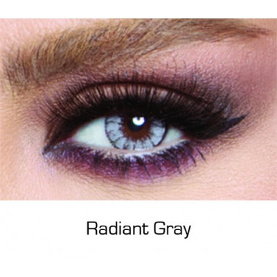 Contact Lenses Glow Radiant Gray Monthly